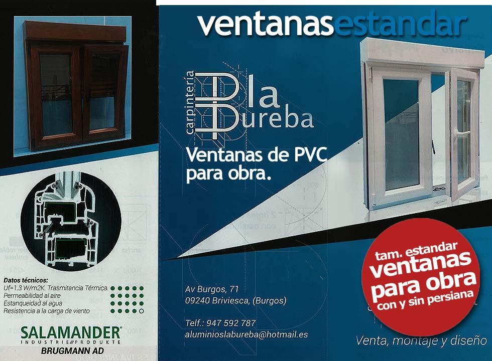 VENTANAS DE PVC ESTANDAR, 947592787, ALUMINIOS LA BUREBA, Ventanas ...
