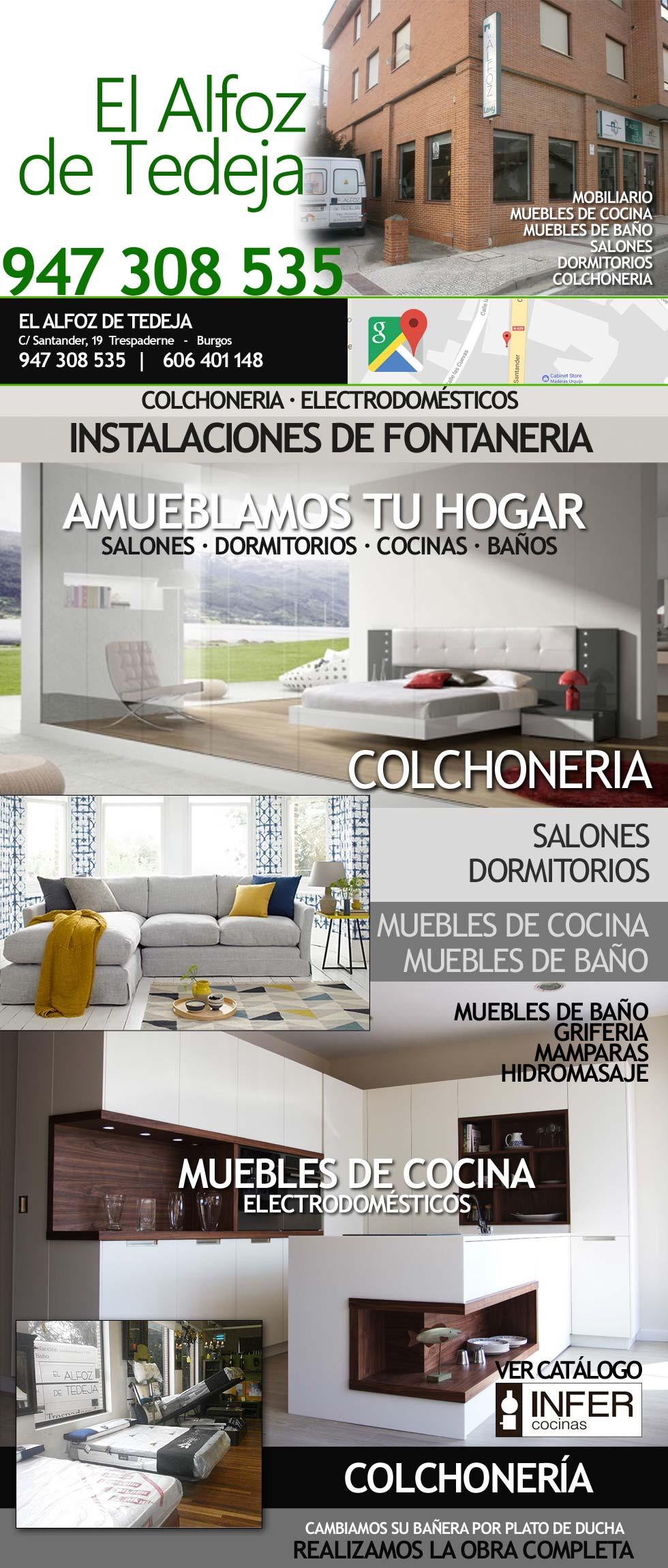 MUEBLES EN LAS MERINDADES, 947308535, EL ALFOZ DE TEDEJA, Muebles de ...